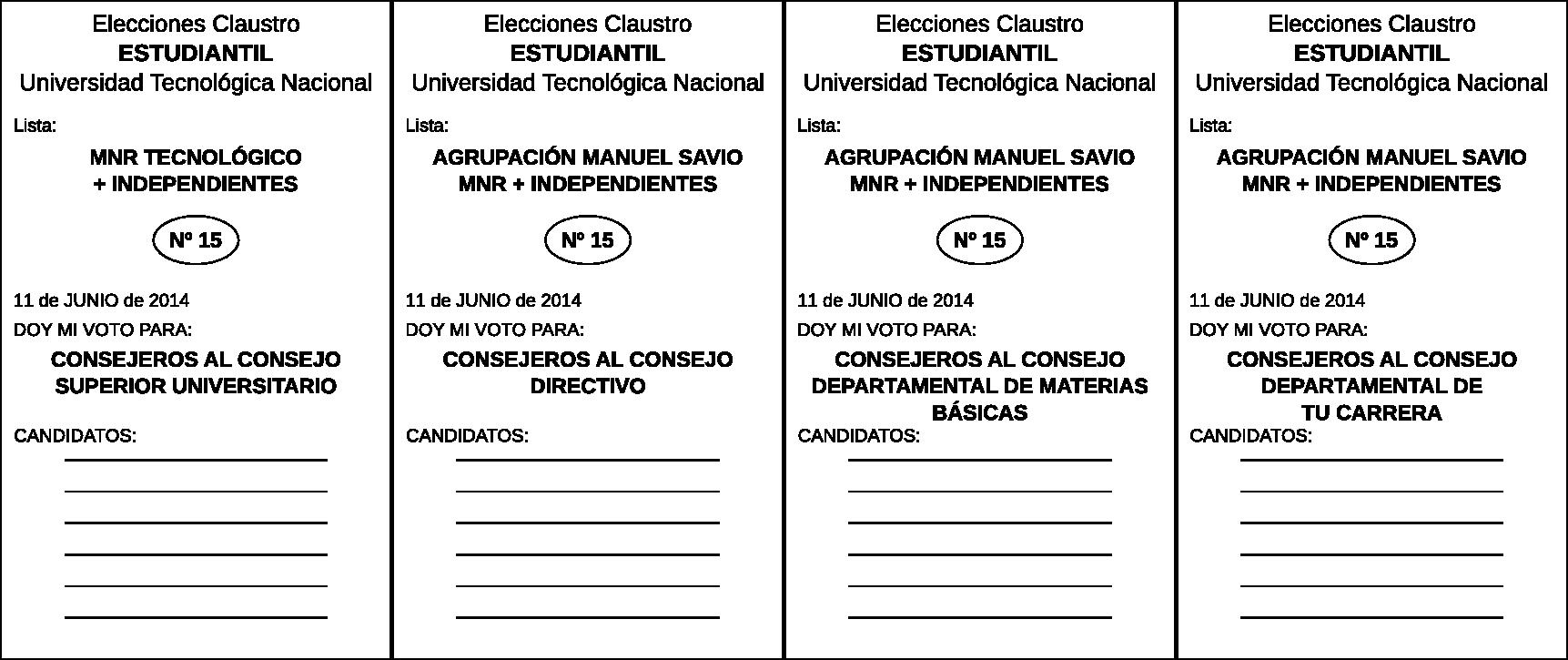 Modelo de Boleta