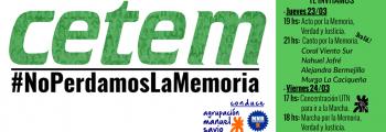 Acto por la Memoria
